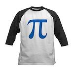 Pi Symbol Kids Baseball Jersey