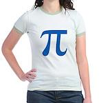 Pi Symbol Jr. Ringer T-Shirt