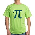 Pi Symbol Green T-Shirt