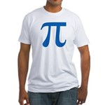 Pi Symbol Fitted T-Shirt
