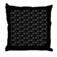 Marijuana Leaf Pattern Throw Pillow