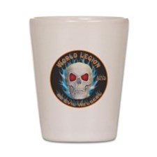 Legion of Evil Welders Shot Glass