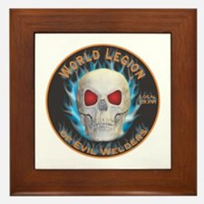 Legion of Evil Welders Framed Tile