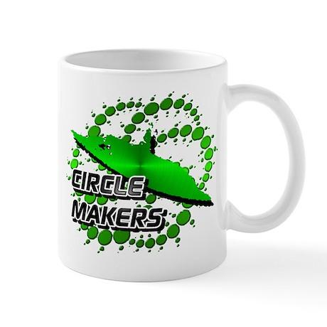 Circle Makers Blue Green Mug