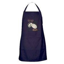 MARCHING TO THE BEAT OF MY OWN DRUM Apron (dark)