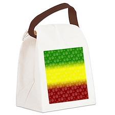 Rastafari Pot Leaf Canvas Lunch Bag