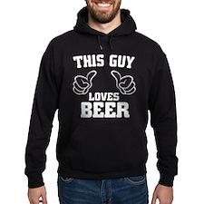 This Guy Loves Beer Hoodie
