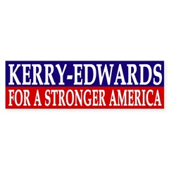Kerry-Edwards for a Stronger America