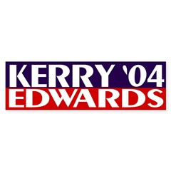 Kerry-Edwards 2004 Bumper Bumper Sticker