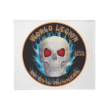 Legion of Evil Runners Throw Blanket