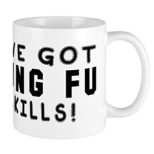Kung Fu Skills Designs Small Mug
