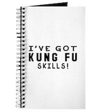 Kung Fu Skills Designs Journal