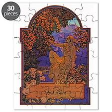Maxfield Parrish Perfume Ad Illustration Puzzle