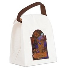 Maxfield Parrish Djer Kiss Ad Canvas Lunch Bag