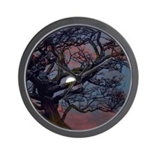 Moonlight Madness Wall Clock