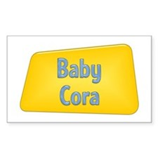 Baby Cora Rectangle Decal