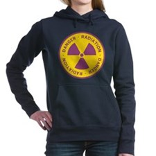 Radiation Warning Symbol Hooded Sweatshirt