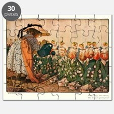 Mary Mary Quite Contrary Puzzle