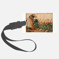 Mary Mary Quite Contrary Luggage Tag