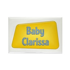 Baby Clarissa Rectangle Magnet (100 pack)