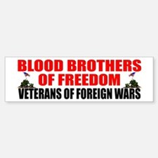 """Blood Brothers of Freedom"" Bumper Stick"