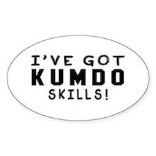 Kumdo Skills Designs Decal