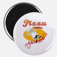 Pizza Aficionado Magnet