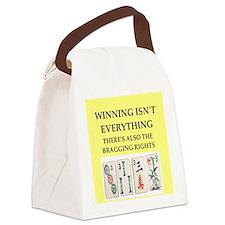 mahjong Canvas Lunch Bag