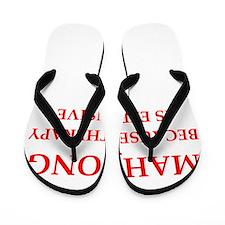 mahjong Flip Flops