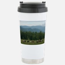Horses of Cades Cove Stainless Steel Travel Mug