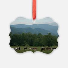 Horses of Cades Cove Ornament