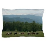 Great smoky mountains Pillow Cases