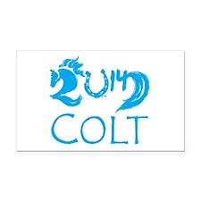 Colt 2014 Cute Baby Horse Rectangle Car Magnet