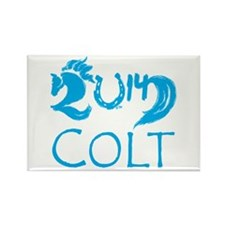 Colt 2014 Cute Baby Horse Rectangle Magnet