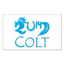 Colt 2014 Cute Baby Horse Decal