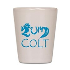 Colt 2014 Year Cute Baby Horse Shot Glass