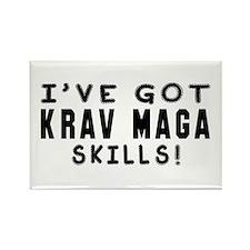 Krav Maga Skills Designs Rectangle Magnet
