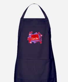 Have I Told You-Van Morrison Apron (dark)