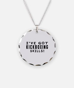Kickboxing Skills Designs Necklace