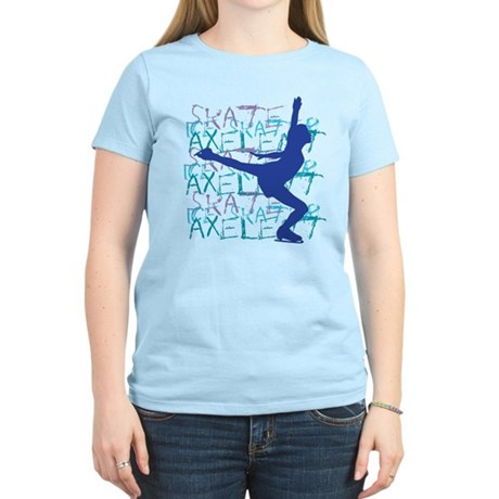 Just Land It Ice Skating Women's Light T-Shirt