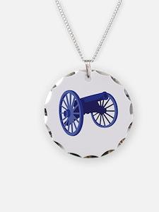 Civil War Cannon Necklace
