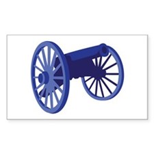 Civil War Cannon Decal