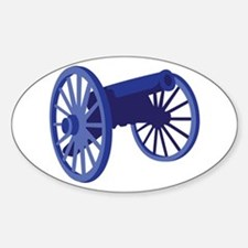 Civil War Cannon Decal