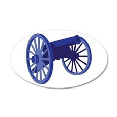 Civil War Cannon Wall Decal