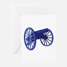 Civil War Cannon Greeting Cards