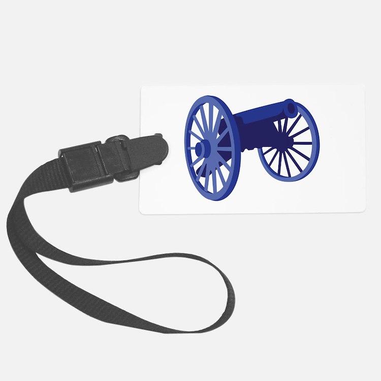 Civil War Cannon Luggage Tag