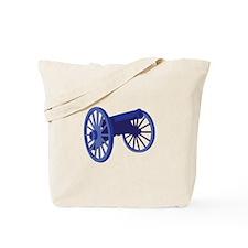 Civil War Cannon Tote Bag