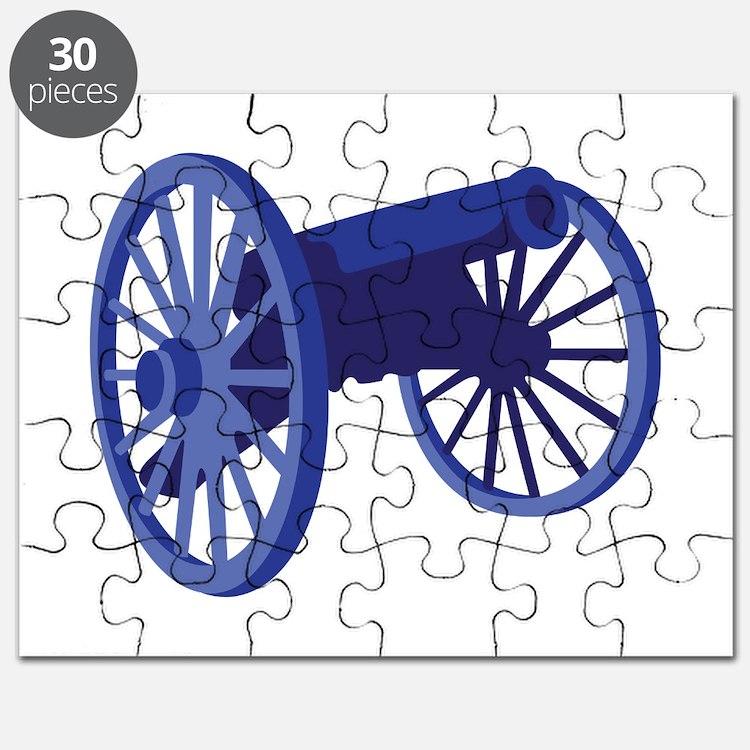 Civil War Cannon Puzzle