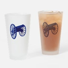 Civil War Cannon Drinking Glass