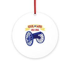 CIVIL*WAR 1861-1865 Ornament (Round)